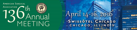 American Surgical Association 136th Annual Meeting, April 14-16, 2016, Swissôtel Chicago