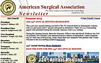 ASA Latest Newsletter