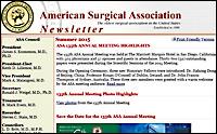ASA Latest Newsletter